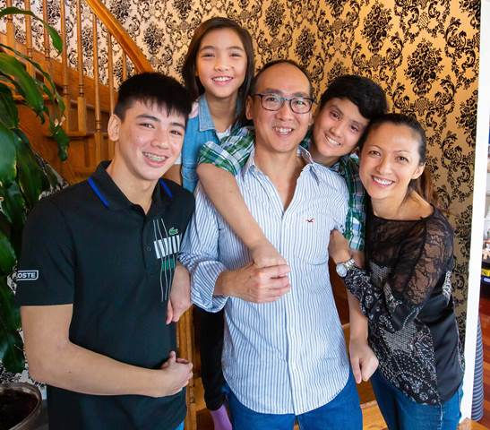 Famille Trinh Family