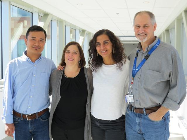 Dr. Tenzin Gayden, Dr. Sharon Abish, Dr. Nada Jabado, Dr. David Mitchell
