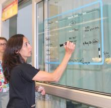 Dr. Zavalkoff, Glass Door Project, Montreal Children's Hospital